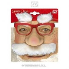 Santa Nose And Glasses